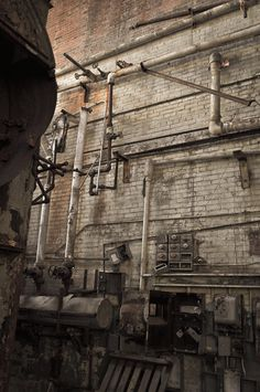 The beauty of abandoned industrial spaces - now I just need the money to turn one into my live/work loft... Thanks brandMOJOimages on Etsy, and Marisa Kestel, the owner, for keeping me inspired i the meantime!