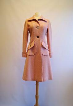 Vintage Pink Coat - Coat Nj