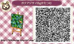 Blue Wild Flowers - Animal Crossing New Leaf QR