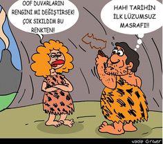 Tarihin İlk Lüzumsuz Masraf Karikatürü Vacip Örger