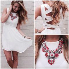 vestido blanco sexy