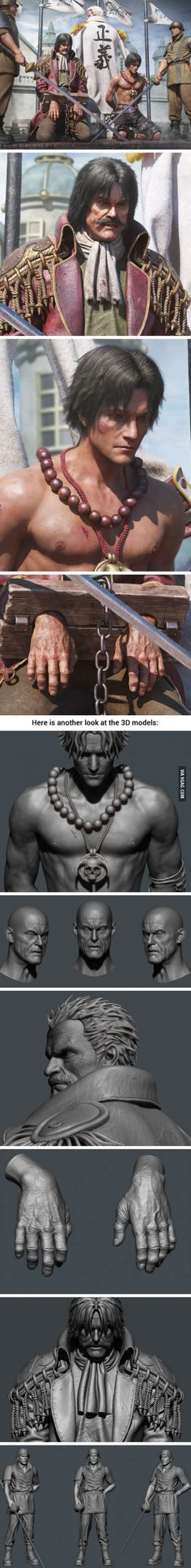 Realistic 3D One Piece Artwork By Chinese Artist Zhong Zhengxiang