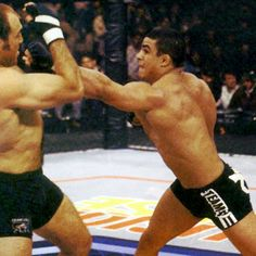 Vitor Belfort (pictured here in his early days in the UFC) has accepted Alan Belcher's challenge and will face him at UFC 153.  What do you think of this match-up?
