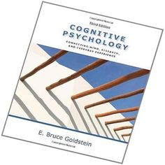 Solution Manual For Cognitive Psychology Connecting Mind Research and Everyday Experience 3rd Edition E Bruce Goldstein