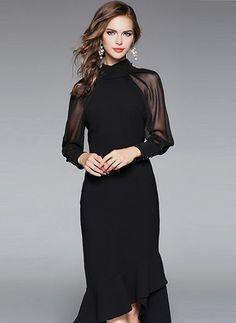 Geschickt Reiss Deep Blue Lace Insert Dress Size 12 Attraktive Mode Kleidung & Accessoires