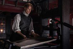 Jamie Fraser (Sam Heughan) in Outlander Season Three Voyager on Starz