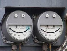 Happy Metal faces? objects with faces