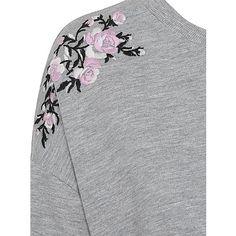 Floral Embroidered Sweatshirt   Women   George at ASDA