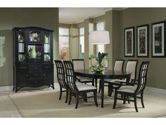 Studio One Black 5 PC Round Table Dining Set   American Signature Furniture