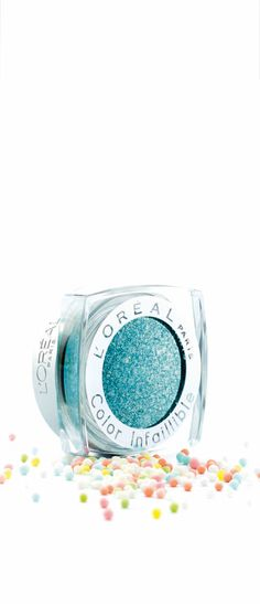 Eye candy: Infallible 24 HR Eye Shadow in Endless Sea. Pro Tip: Apply along the waterline for a quick color pop.