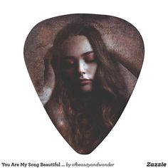 You Are My Song Beautiful Girl Guitar Pick - girl gifts special unique diy gift idea Guitar Bag, Guitar Picks, Me Me Me Song, Personalized Products, Cool Gifts, Fashion Beauty, Songs, Beautiful, Artwork
