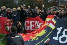 Genoa supporters, Pioneers Cup 2013