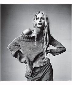 Kristy Hume Irving Penn, Vogue, April 1997