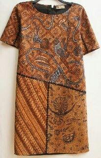 Batik sogan dress