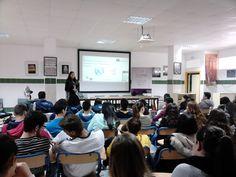 """On 6th April, it was held the first meeting for the conference """"Internet and Social Networks for Employability"""" at Secondary School Juan Ramón Jiménez in Moguer (Huelva). El pasado 6 y 7 de abril se han celebrado las  jornadas de """"INTERNET Y REDES SOCIALES PARA LA EMPLEABILIDAD"""" en el I.E.S. Juan Ramón Jiménez en la localidad de Moguer, Huelva."""