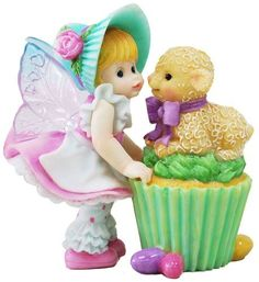 Little Easter Cupcake Fairie - From Series Thirty Eight of the My Little Kitchen Fairies collection