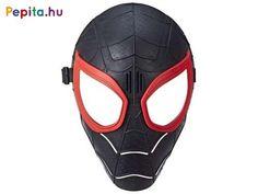 Öltözz be Pókembernek, és vedd fel a fekete-vörös maszkot! A fekete Spider-man Pókember álarc egy műanyagból készült maszk, amivel vagányabbá, élethűbbé teheted a fekete Spiderman jelmezedet! Az álarc a szemeknél ki van párnázva, a maszkot egy állítható hosszúságú gumis pánttal tudod az arcodra rögzíteni. A Pókember álarc univerzális méretű, kisebbek és nagyobbak is hordhatják. Deadpool, Spiderman, Superhero, Fictional Characters, Products, Bebe, Spider Man, Fantasy Characters, Gadget