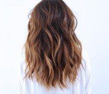 Inspirant de l'image joliment, beauté, bruns, fille, cheveux, coifure, ombre, cheveux courts, style, cheveux mouvants #3662361 par loren@ - Résolution 500x500px - Trouver l'image à votre goût