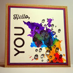 Eileen's Crafty Zone: Brusho Paints... Every card I've made with them so far....