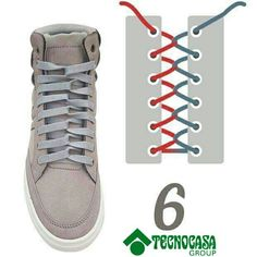 Discover recipes, home ideas, style inspiration and other ideas to try. Diy Fashion, Fashion Shoes, Mens Fashion, Tie Shoes, Your Shoes, Ways To Lace Shoes, Creative Shoes, Tie Shoelaces, Diy Clothes