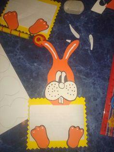 Conejo para mensaje de Pascuas