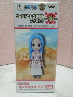 New One Piece World Collectable Nefeltari Vivi Figure HN002 from Japan