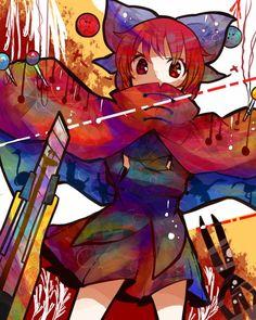 Tags: Anime, Touhou, Ringetsumon, Sekibanki