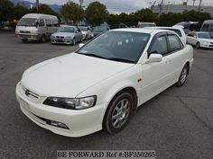 Used 2000 HONDA / Accord (GH-CF4) / A/C, PowerSteering, PowerWindow, AirBag, AlloyWheel / Mileage:58,269km / Steering:RIght / Color:Pearl http://niji7.com/maker/honda/model/accord/id/454627 #usedcars #beforward