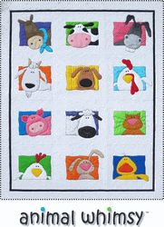 Amy Bradley Animal Whimsy Quilt Pattern $29