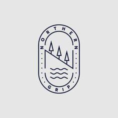177 個讚,8 則留言 - Instagram 上的 Harrison Park(@madebyharrison):「 Unused logo for a mountain bike festival during my internship at StudioDBD 」