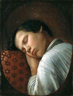 Sleeping Boy (Nikifor Krylov)