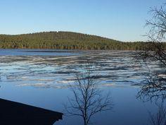 Ounasjärven kelkkareitti 8.6.2017.