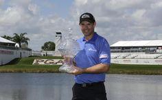 Padraig Harrington ends PGA title drought with playoff victory at Honda Classic Padraig Harrington, Palm Beach Gardens, Golfers, Victorious, Honda, Classic, Derby, Classic Books