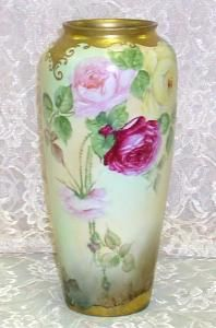 Limoges Vase - Tall Plain-Front | Flickr - Photo Sharing!