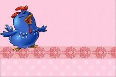 Resultado de imagem para galinha pintadinha rosa