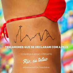 Clique aqui para garantir o seu exemplar do livro Rio, eu tatuo!www.kickante.com.br/rioeutatuo
