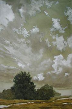 """Laura Den Hertog  """"In High Spirits""""  Oil on Canvas  36 x 24 x 1.5"""