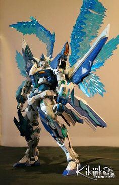 GUNDAM GUY: 1/100 00 Gundam Ryuu - Custom Build