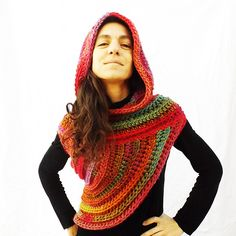 Ravelry: CeciliaLosada's Katniss Hooded Vest By Mamma DIY Patterns