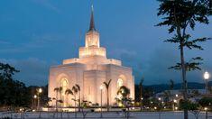 Click to enlarge this image of the San Salvador El Salvador Mormon Temple