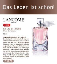 #Lancome La Vie est Belle - der neue Duft