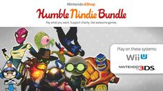 Pay however much you want for indie Wii U and Nintendo 3DS eShop games with the Humble Nindie Bundle — the more you pay, the more you get. Nintendo Eshop, Nintendo News, Pay What You Want, Wii U, Fun Games, Charity, Indie, Cool Games