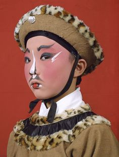 This was Charles Fréger's first trip to China. He returned there twice more while making the series Opera. Shanghai, Beijing, Pekin Opera, Charles Freger, Types Of Clothing Styles, Monster Mask, Chinese Opera, Dragon Dance, Portraits