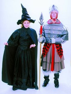 Wicked Witch of the West and Winkie Guard Costumes - Wizard of Oz Rental from $39-53 per costume - Purchase from $350-425 (custom made to size)