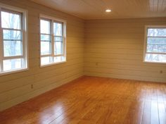 DIY plywood flooring (~$1 sq ft) very cool
