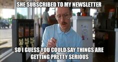 Just because someone subscribes to your newsletter or email doesn't mean your work is done. Rather, it's just starting. :-)