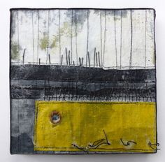 Add a new dimension to your textile art using wax and stitch with Debbie Lyddon.