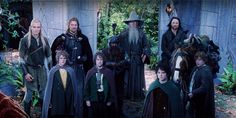 Fellowship of the Ring formed during council of Elrond, comprised of Men, Elves, Dwarves, Wizards and Halflings. Aragorn, Boromir, Legolas, Gimli, Gandalf, Frodo, Sam, Merry and Pipin depart Rivendell December 25, 1418.