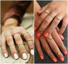 Piensa en Chic: CHIC ACCESSORIES: MIDI RINGS