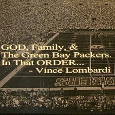 Packers have been my team forever and i've always loved them:)